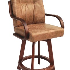 Chromcraft Furniture Kitchen Chair With Wheels Costco Faucet C179 384 Swivel 26 Quot Wood Bar Stool