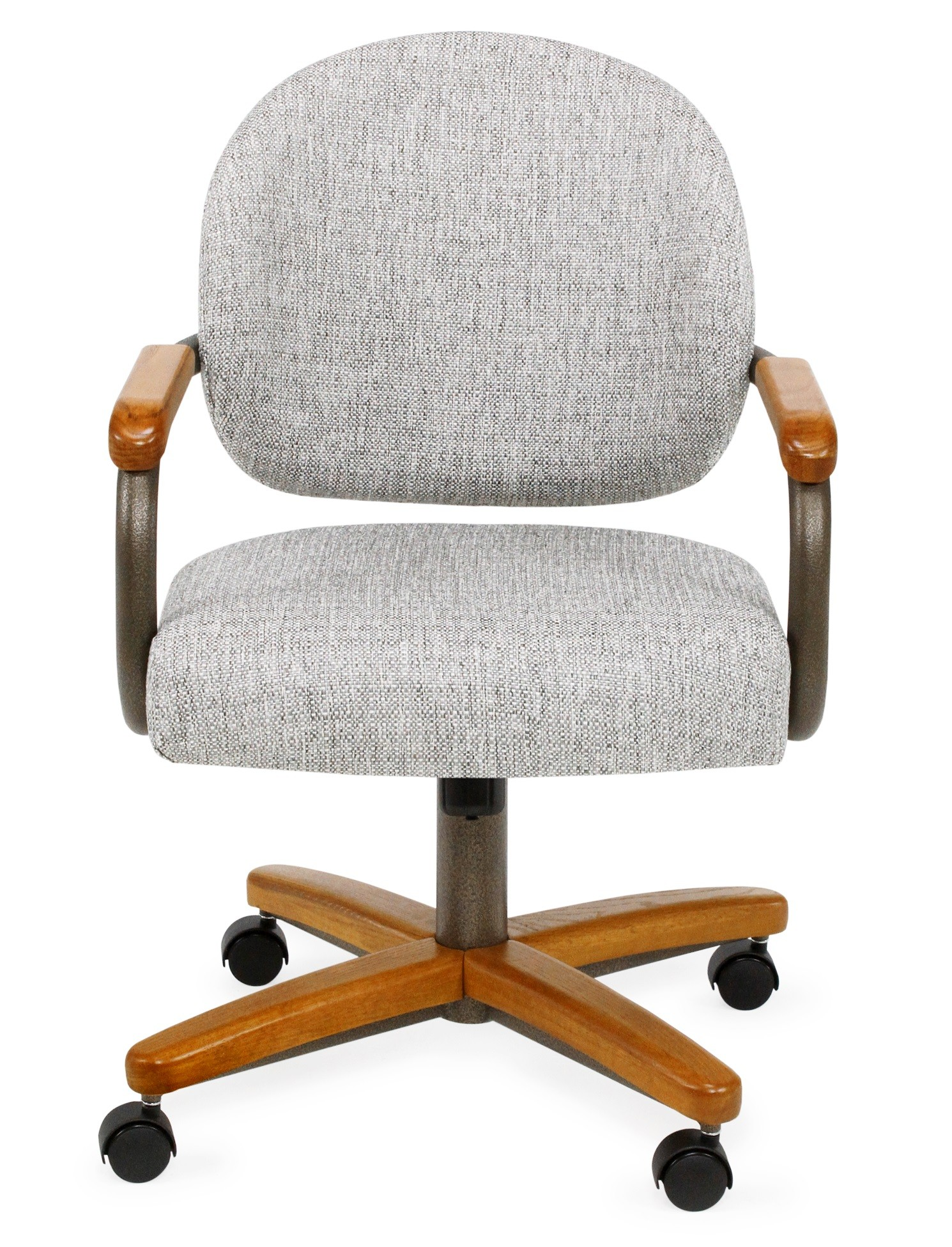 chromcraft furniture kitchen chair with wheels montessori tools c362 935 swivel caster dinette discount