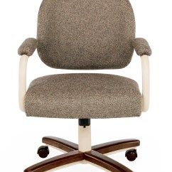 Chromcraft Furniture Kitchen Chair With Wheels Cupboards Lights C363 935 Swivel Tilt Caster Dinette
