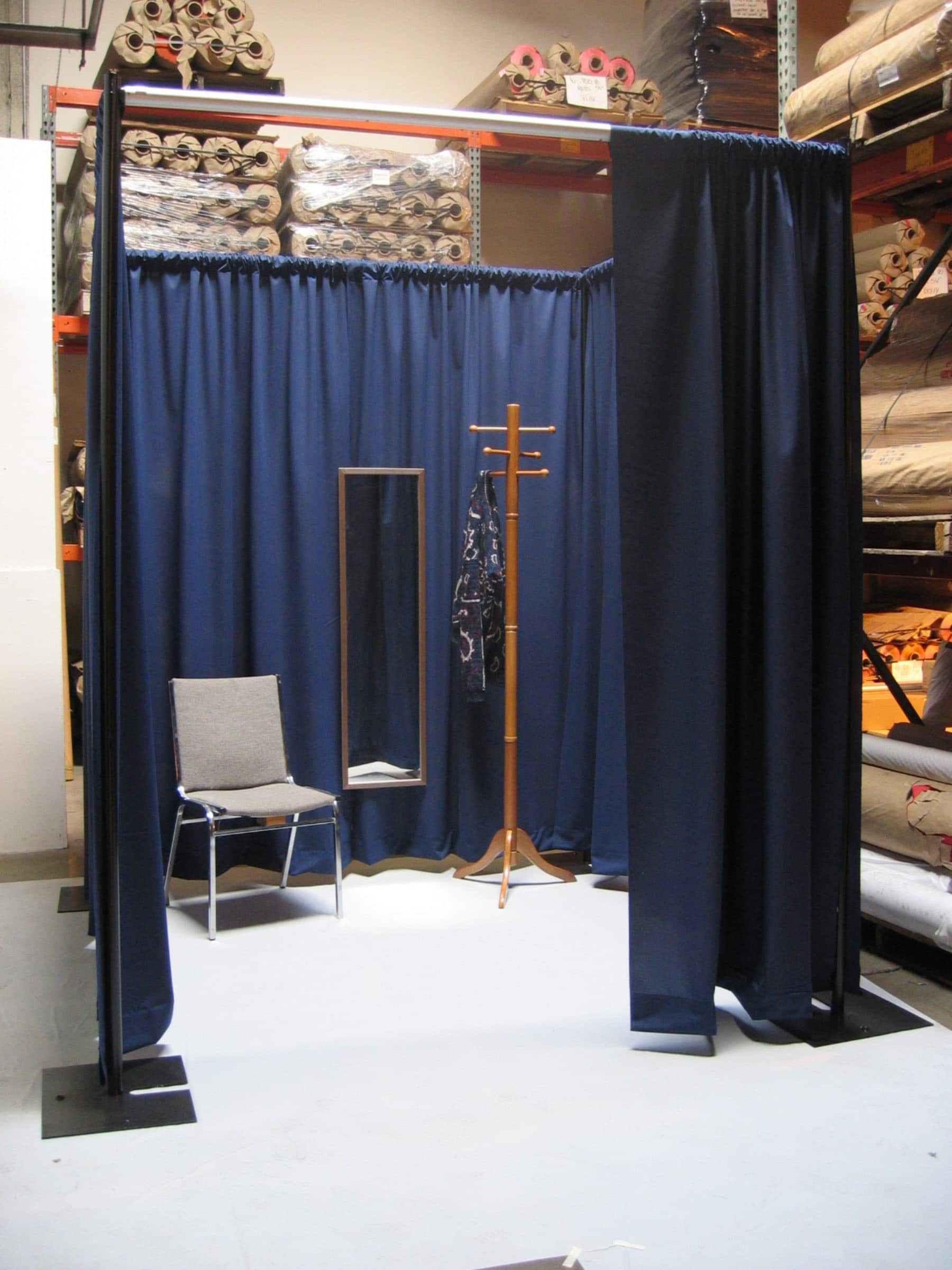 Photobooth Kit  10x10  Pipe and Drape PhotoDressing Room