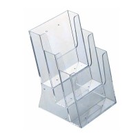 Acrylic Brochure Holder Multi Pocket | Discount Displays