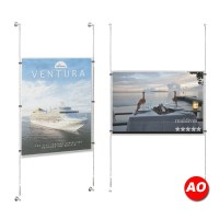 A0 Poster Holder Kit - Store Window Displays
