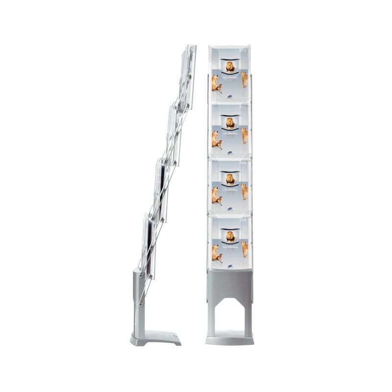 FoldUp Brochure Holder  Compact Literature Display Rack