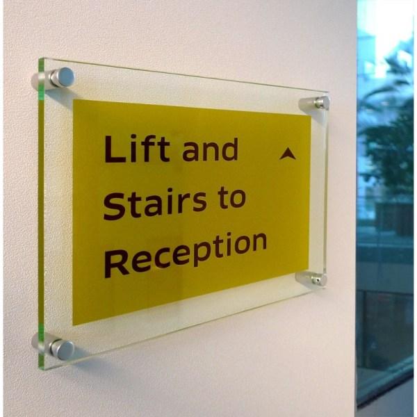 Custom Printed 5mm Acrylic Signs - Office
