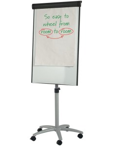 Best seller wheeled flipchart easel also whiteboards discount displays rh discountdisplays
