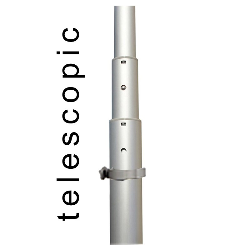 Portable 5m Event Flag Pole  Discount Displays
