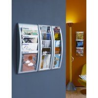 A4 Wall Mount Brochure Holder | Discount Displays