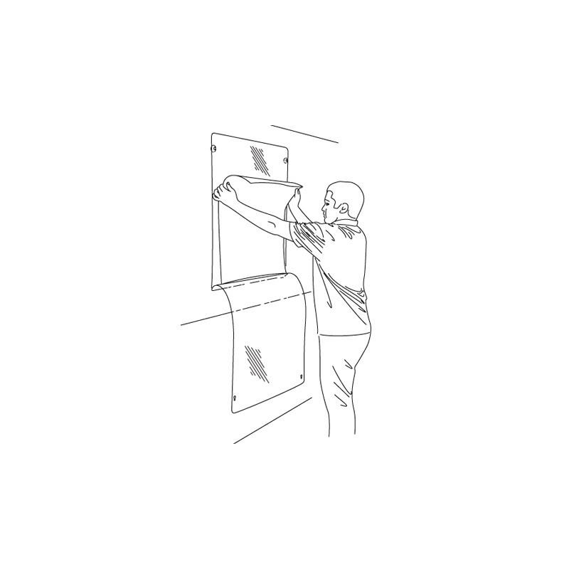 Window Poster Holder