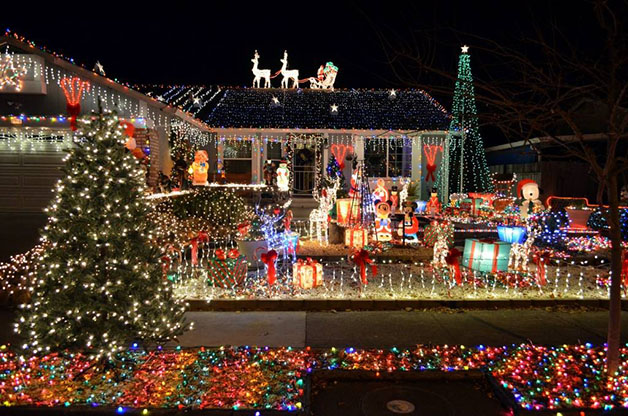 Amazing House Christmas Light Displays Discount Displays