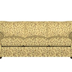 Brocade Sofa Fabric Modern L Shaped Design Gold Brown And Ivory Floral Upholstery By