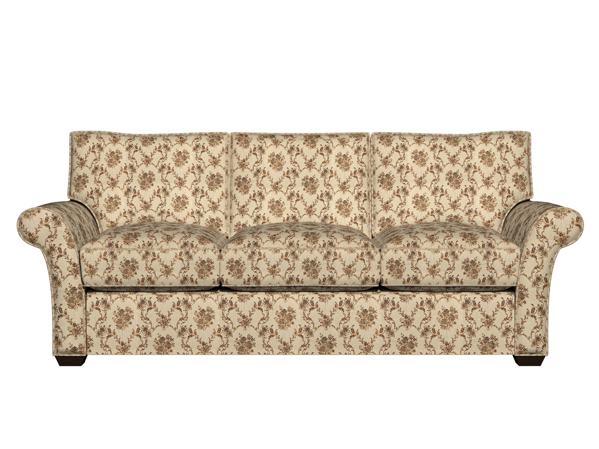 brocade sofa fabric side table ideas a0014e beige gold brown and ivory floral