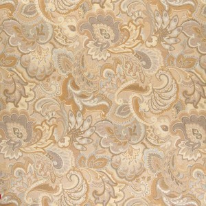 brocade sofa fabric ikea kivik embly paisley upholstery fabrics discounted a0025c gold and beige abstract floral by the yard
