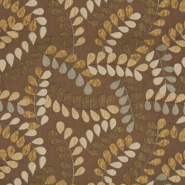 Gray and Brown Upholstery Fabric