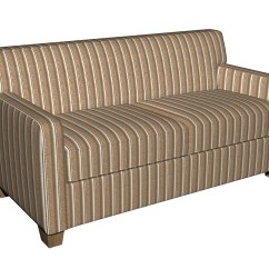 Light Brown Tweed Sofa Dfs French Connection Zinc Leather And Ivory Striped Textured Metallic Upholstery