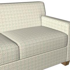 Blue And White Sofa Fabric Sleeper Sofas In Raleigh Nc B0790b Aqua Off Diamonds Cut Velvet