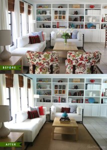 home staging labor before and after
