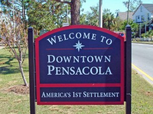 welcome to downtown pensacola florida