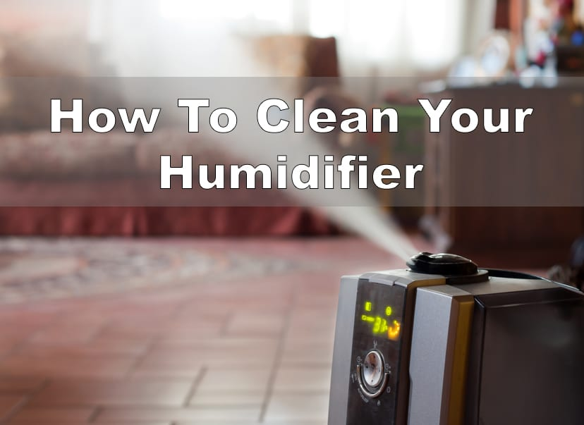 cleaning your humidifier the easy way. Black Bedroom Furniture Sets. Home Design Ideas
