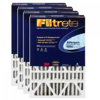 16x25x1 Filtrete Air Filter - Ultra Allergen - DP01DC-4 (4pk)