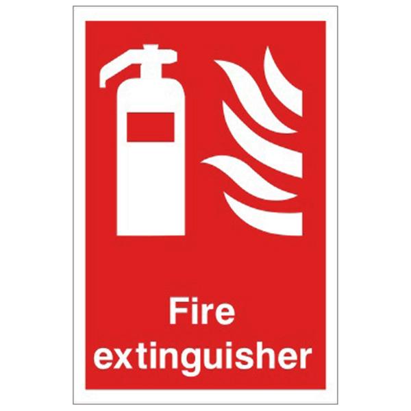 Fire Extinguisher Equipment Sign  Discount Fire Supplies