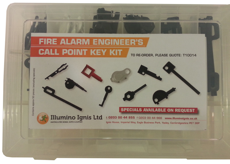 Call Point Key Kit For Fire Alarm Engineers  Discount