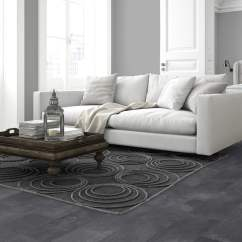 Dark Grey Laminate Flooring Living Room 2 Gallery Of Rooms Decorating Ideas Elite Stone 8mm Tile Effect Flooing Slate 047 047m2 From Discount Depot Uk