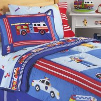 Heroes Comforter and Sham Set