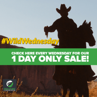 Wild Wednesday!.... 1 day only!