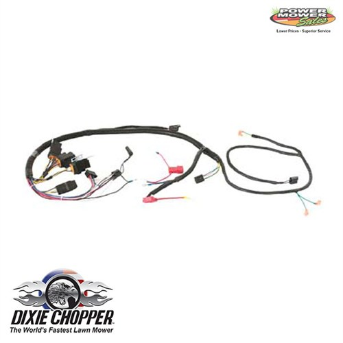 wiring harness for mini chopper