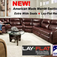 Home Theater Reclining Sectional Sofa Mackenzie Dog Bed Layflat Sectionals