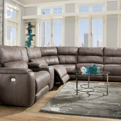 Leather And Fabric Sofa In Same Room Yellow Flowered Sofas Southern Motion 883 Dazzle Reclining Loveseats ...