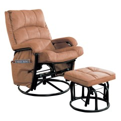 Glider Recliner Chair With Ottoman Cheap Sofa Chairs Coaster Reclining Rocker And 650005