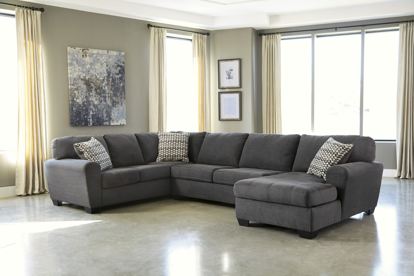 liberty 2 piece sofa and motion loveseat group in grey nixon sorenton laf chaise sectional slate