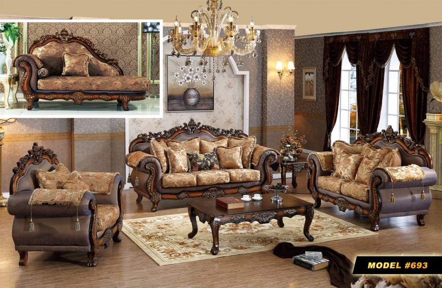 Meridian Seville 2 Piece Living Room Set