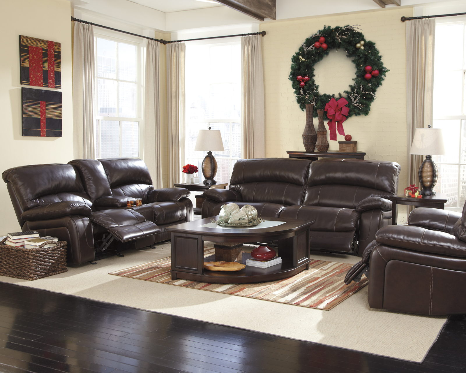 paula deen home living room furniture lazy boy sets damacio power reclining set in dark brown