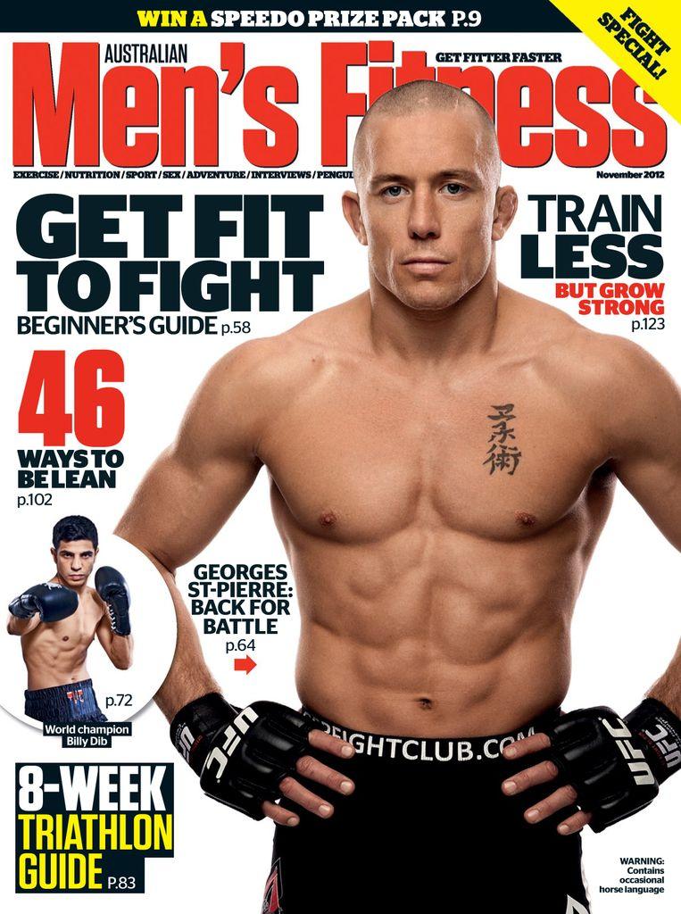 Australian Men's Fitness October 2012 (Digital)