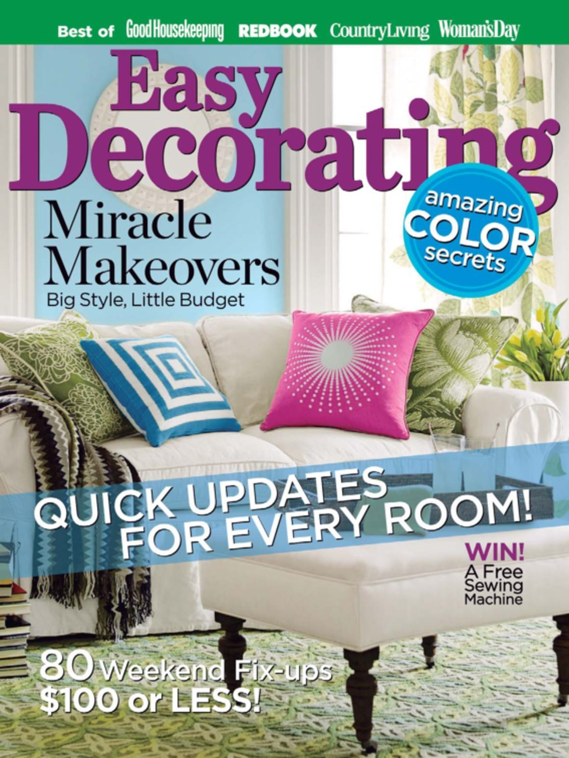 Easy Decorating Ideas Magazine Digital  DiscountMagscom
