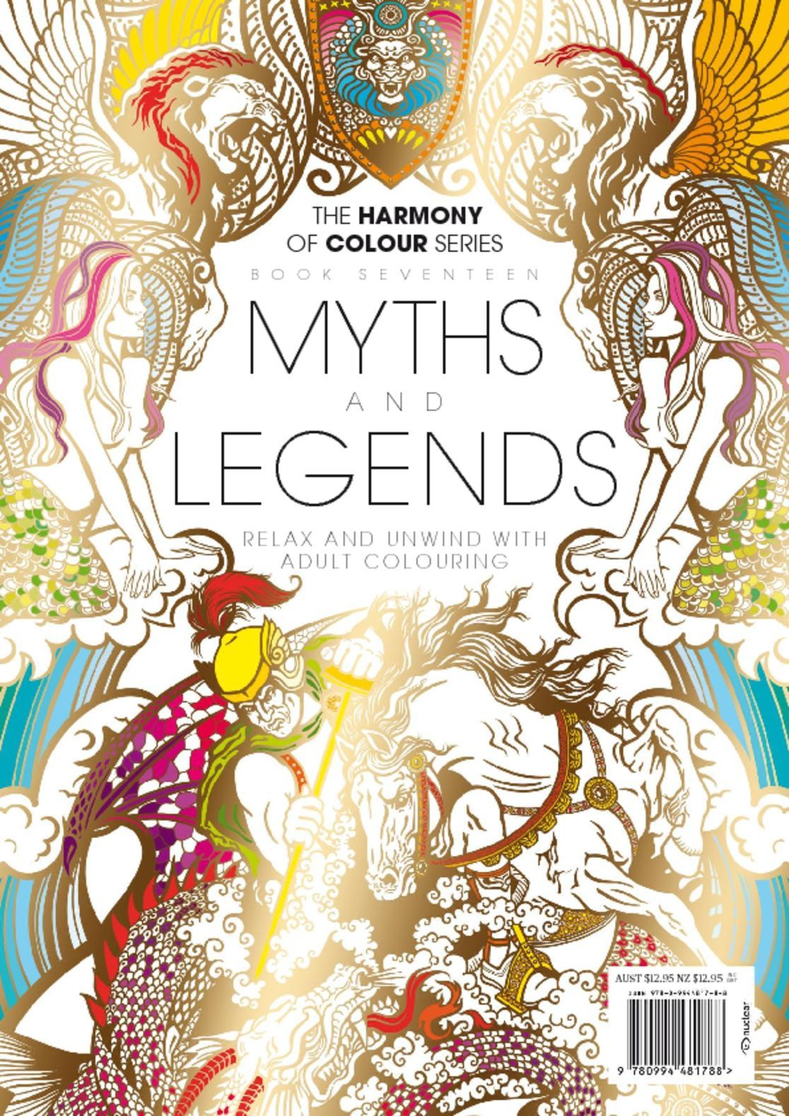 Colouring Book Myths And Legends Magazine Digital