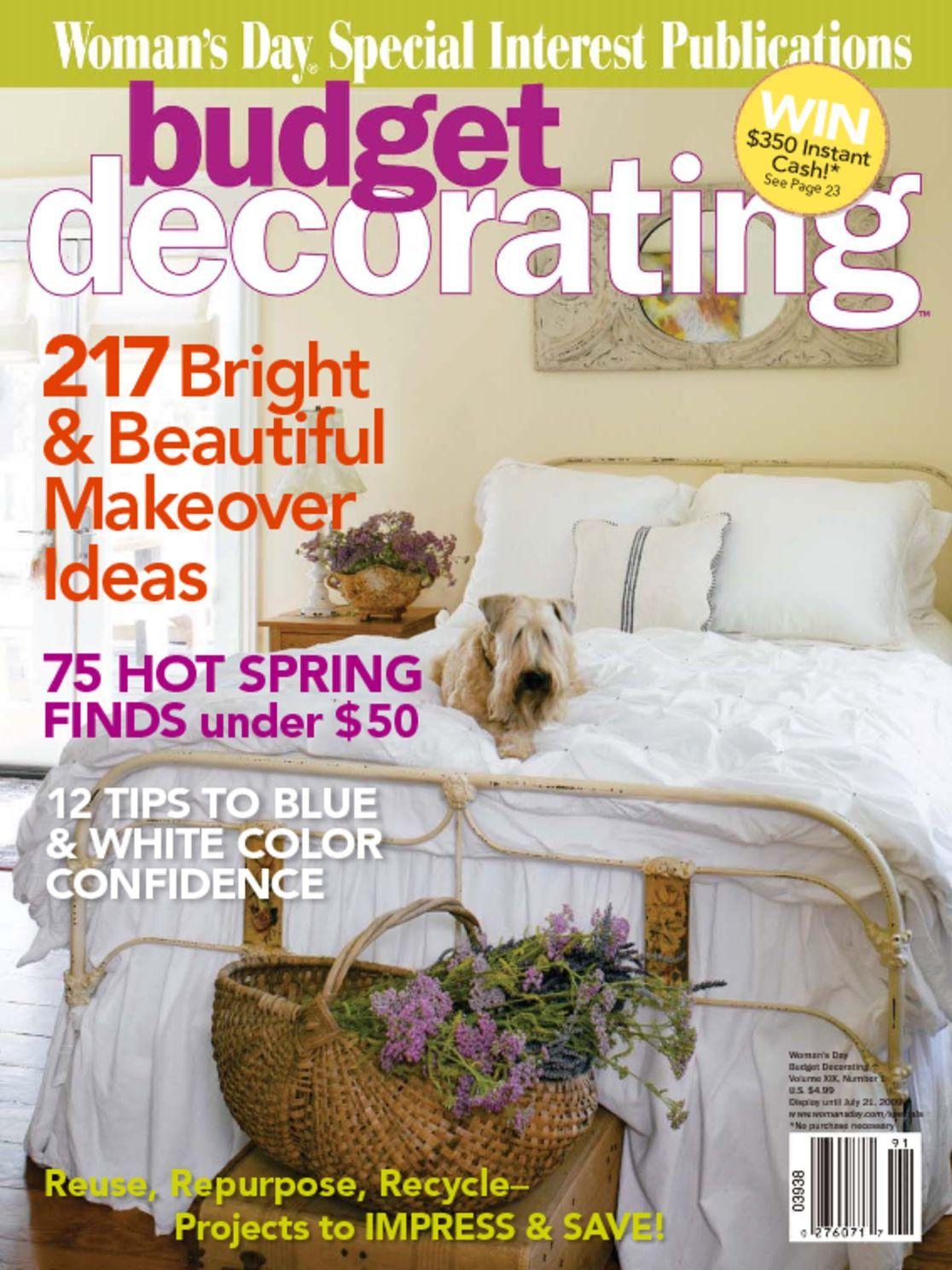 Budget Decorating Ideas Magazine Digital  DiscountMagscom