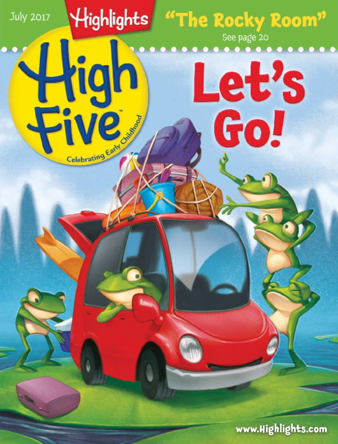 Highlights High Five Magazine | Educational Preschooler Magazine - DiscountMags.com