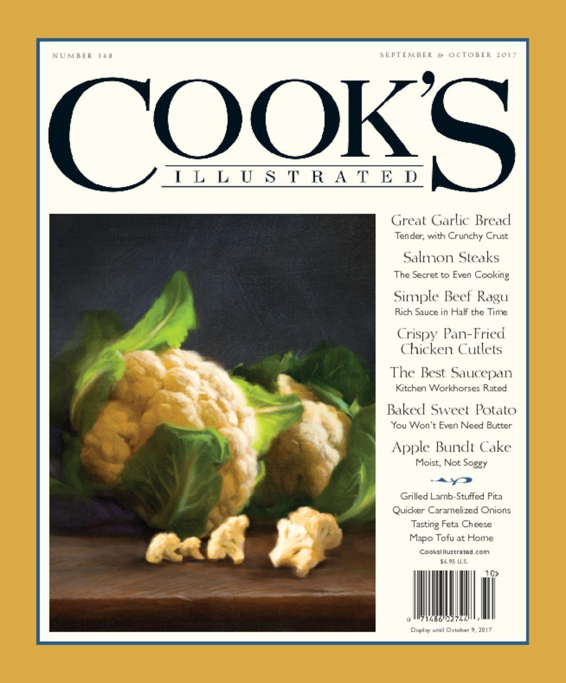 Cooks Illustrated Magazine Americas Test Kitchen