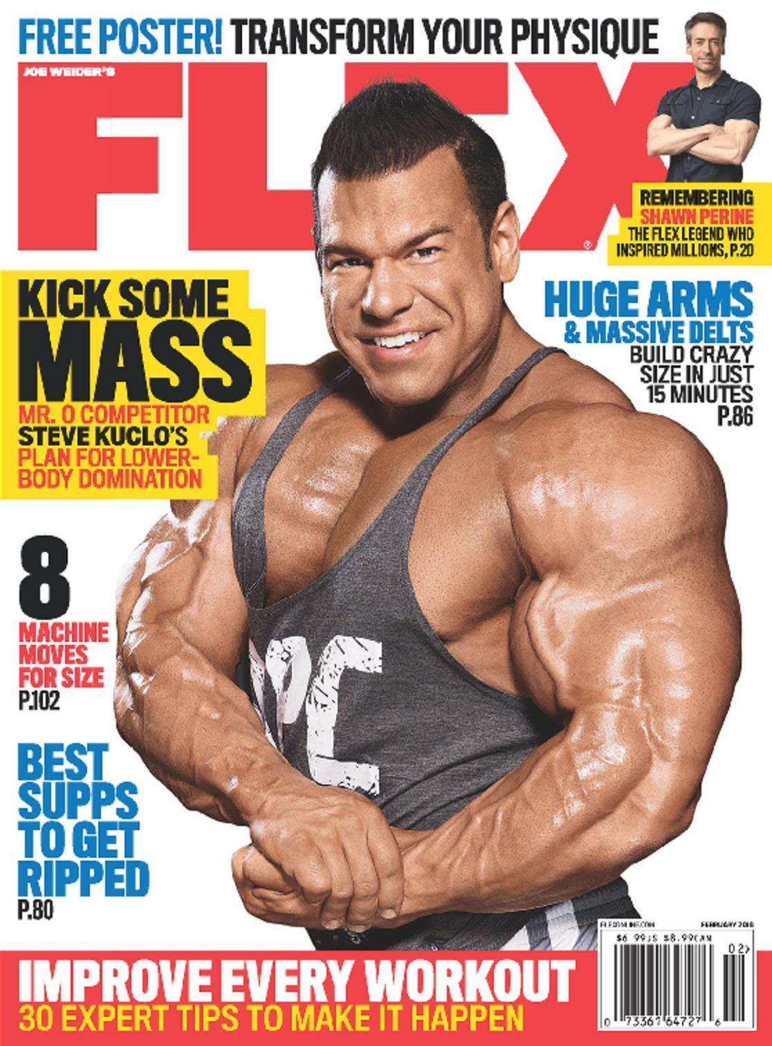Flex Magazine  Subscribe to Flex Mag  DiscountMagscom
