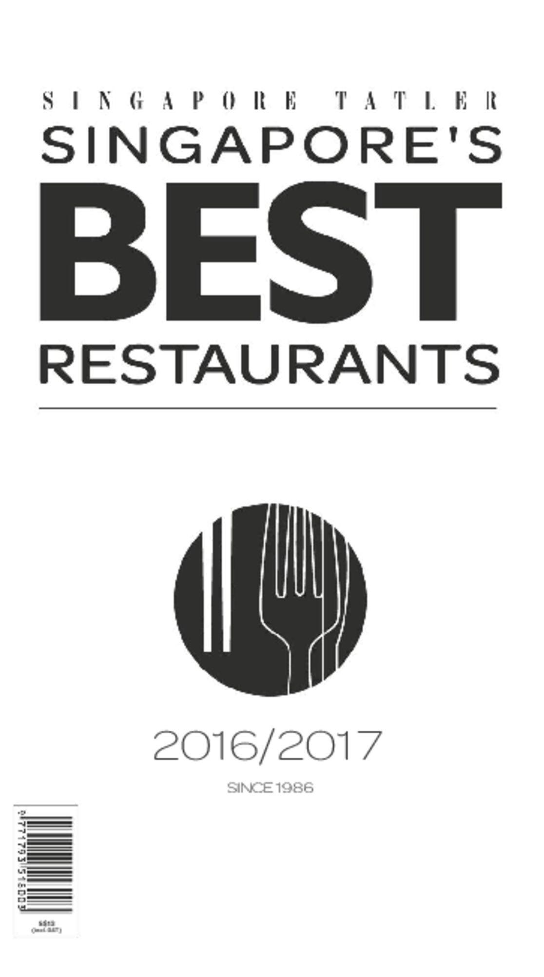 Singapore Tatler Singapore's Best Restaurants Magazine