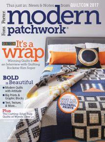 Modern Patchwork Magazine 2017