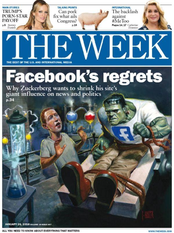 Week Magazine And Cartoons