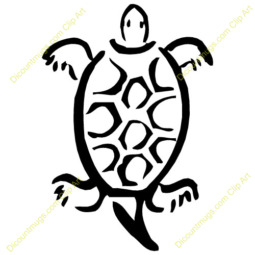 Indian Turtle Clipart