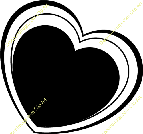 Free Heart With Layers Clipart Custom Clip Art 29501