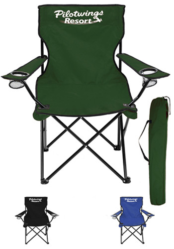 portable picnic chair barcelona and ottoman time chairs folding with your logo design cup holders storage bag