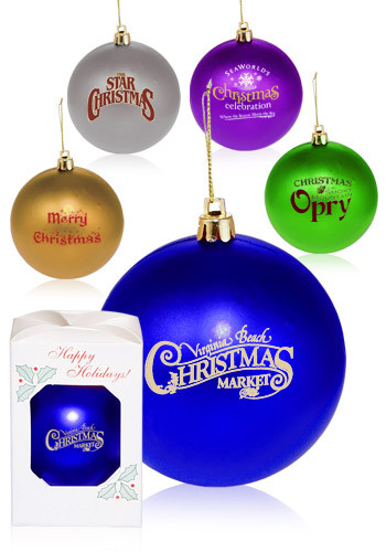 Personalized Round Plastic Holiday Ornaments Or2 Discountmugs