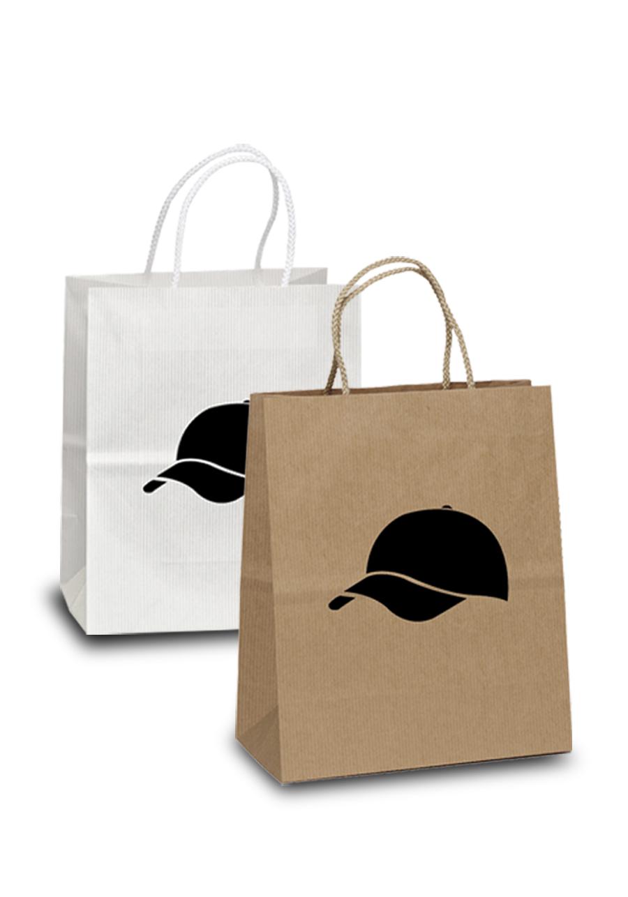 Custom Hollywood Uptown Shopper Paper Bags  BM34U79  DiscountMugs